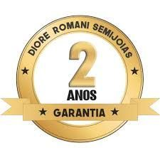 BRINCO PALITO GOTA EM ZIRCÔNIA CRISTAL  DIORE ROMANI